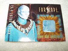 Farscape Costume Relic Card Pa'u Zotoh Zhaan CC12