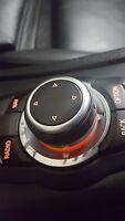 BMW NEW GENUINE E87 E90 E70 CIC NAVIGATION CONTROLLER PEARL GREY RING 9353030