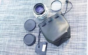 Serviced Carl Zeiss Jena Biotar 50/1.4 Pentaflex 16 Camera Lens Near Mint w/ Bag