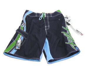 Billabong Shorts Blue Green Mark Occhilupo Signature Board Cargo Swim Mens 29