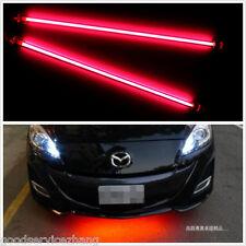 4 X Car RED  Undercar Underbody Neon Kit Lights CCFL Cold Cathode Long DIY