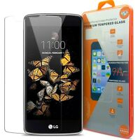 Protection Verre trempé LG K8 (K350N) 9H Glass Pro+ HD 0.33 mm 2.5D