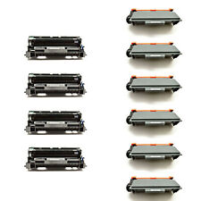 6PK TN750 Toner+4PK DR720 Drum For Brother MFC-8510DN 8515DN HL-5440DN 5445D