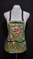 Vinyl Apron with Pockets Zombie Pinup Girl