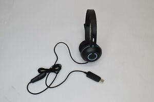 Cyber Acoustics AC-5008 USB Stereo Headset w/ Mic - See Description and Pics