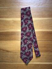 """Fendi Roma 100% Silk Tie Made In Italy Classic 59"""" 3.5""""W"""