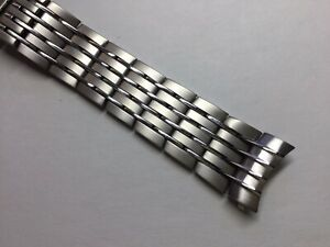 NEW 20MM 316L SOLID STAINLESS STEEL BAND BRACELET FOR OMEGA DEVILLE HOUR VISION
