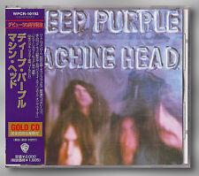 Deep Purple – Machine Head   Japon 24 Ct Gold CD WPCR - 10192 MEGA RARE