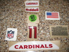 Arizona Cardinals 20 mil 3M vinyl full size football helmet decals