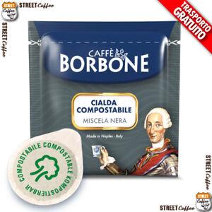 150 Cialde in Carta Caffè Borbone ESE 38 mm Miscela Nera Nero Filtrocarta gratis