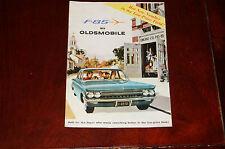 1960 F-85 Oldsmobile brochure GMH