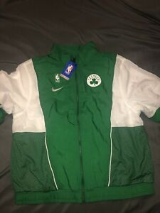 Boston Celtics NIKE Retro Courtside NBA Tracksuit Jacket NWT- Men's Large
