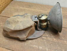 New listing L287- Antique 1920's Miners Soft Cloth Hat W/ Brass Cap Lamp