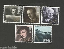 Great Britain SC #1119-1123 20th Century Motion Picture Legends MNH