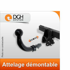 Attelage demontable horizontal Mitsubishi Outlander 2007/2012
