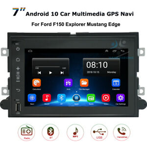 """7""""Android 10 GPS Navi Car Stereo Radio For Ford F150 Explorer Mustang Expedition"""