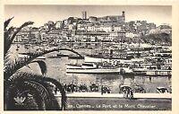 BR10032 Cannes le port et le mont Chevalier    france