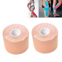 2 Rolls 5x5cm Skin Kinesiology Elastic Tape Muscle Care Physio Sport Therapeutic
