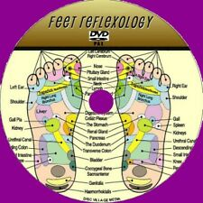 FOOT REFLEXOLOGY INSTRUCTIONAL DVD STEP BY STEP LEARN RELAXING FEET MASSAGE NEW