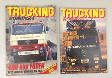 Trucking International UK Magazine January and March 1986