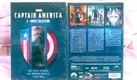 Captain America 1,2,3 DVD Box Set Movie Collection Marvel Civil War Avenger New