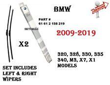 BMW E84 E90 F30 F80 F31 F34 Front Windshield Wiper Blade Set GENUINE 61612158219