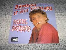 PLASTIC BERTRAND 45 TOURS DALIDA BELGIAN PUNK