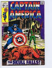 Captain America #119 Marvel 1969