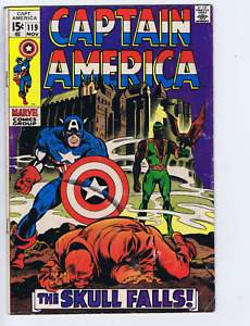 Captain America #119 Marvel 1969