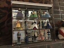 Just Reduced!  Gone With the Wind Franklin Mint  - 15 Figures With Display Case