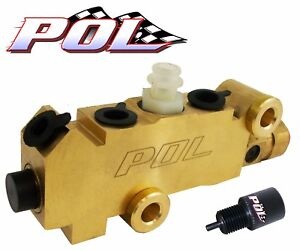Performance Online GM Style Proportioning Valve, Disc/Drum, FREE Prop Valve Tool