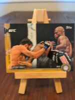 2015 Topps UFC Chronicles Gold /88 Uriah Hall #188 Rookie