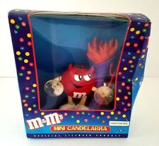 CLEARANCE M&M's Mini Candelabra - Lights Up - Collectible - NEW