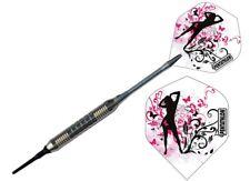 Mädchen pink Soft Dart Pfeile Chrom Darts E-Dart
