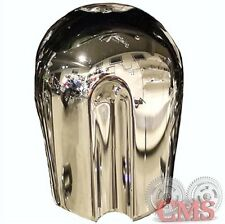 Chrome CVO Style 12V Horn Cover for 91-17 Harley Touring Dyna Sportster Softail