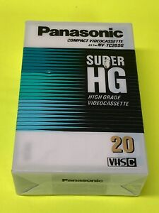 Panasonic VHS-C Super HG Video Cassette...FACTORY SEALED