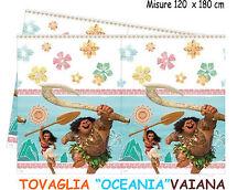 TOVAGLIA VAIANA OCEANIA BUFFET 120 x 180 cm ALLESTIMENTO  FESTA COMPLEANNO