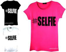 T-shirts et débardeurs à motif Graphique col rond pour fille de 2 à 16 ans