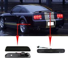 Smoked Ford Mustang 05-09 Rear Led Side Marker Lights + Led Third Brake Light