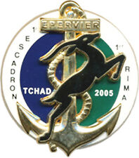 1° R.I.M.A, 1° Escadron, EPERVIER, TCHAD 2005, Arthus Bertrand (9053)