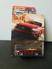 NEW 2020 MATCHBOX ~ '18 Ford Mustang Convertible ~ Red