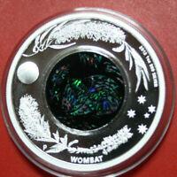 """Australien 1 Dollar 2012 """"Australian Opal Series""""""""Wombat"""" #F3740 PP-Proof Nur 8k"""