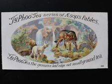No.3 THE WOLF AND THE LAMB - AESOP'S FABLES - Typhoo Tea Ltd 1924