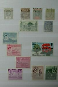 GB Stamps - Mauritius - Small Collection - E4