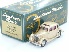 New 1:43 Lansdowne Models LDM28 1947 MG Saloon Type YA Handbuilt Brooklin UK