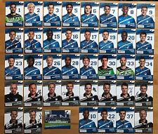 39 AK TSG Hoffenheim Autogrammkarten 2011-12 original signiert