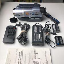 New ListingNice Sony Handycam Dcr-Trv140 Digital8 Video Camera Camcorder Bundle Tested