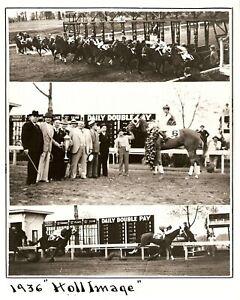 "1936 - Arkansas Derby Winner - HOLL IMAGE - 3 PhotoComposite - 8"" x 10"""