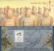 BLOC SOUVENIR N°47 - Année lunaire chinoise du Tigre