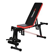 Fitness Pro Sit Up Bench Press Incline Exercise Gym Weight Benches Abdominal AB